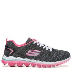 13c5638d92ad Skechers Women s Skech Air 2.0 Sweet Life Memory Foam Sneakers (Black Hot  Pink)