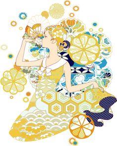 「C.C.レモン擬人化イラコン」/「ボルボネ」のイラスト [pixiv]