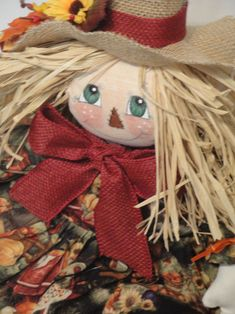 Primitive Raggedy Scarecrow doll Waiting for Dorothy PAPER PATTERN #101