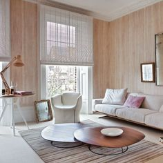 White-Washed Wood Panelling! A great way to revive an old element