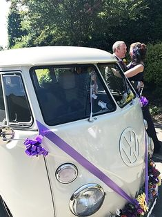 Planning a wedding in Basildon? Why not go for an unusual wedding car, and hire our VW wedding camper. Wedding Vans, Wedding Car Hire, Wedding Company, Vw Campervan Hire, Car Cost, White Vans, London Wedding, Retro Cars, Vintage