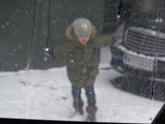 Snowy day-Vienna