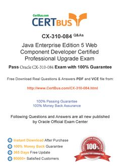 Candidate need to purchase the latest Oracle CX-310-084 Dumps with latest Oracle CX-310-084 Exam Questions. Here is a suggestion for you: Here you can find the latest Oracle CX-310-084 New Questions in their Oracle CX-310-084 PDF, Oracle CX-310-084 VCE and Oracle CX-310-084 braindumps. Their Oracle CX-310-084 exam dumps are with the latest Oracle CX-310-084 exam question. With Oracle CX-310-084 pdf dumps, you will be successful. Highly recommend this Oracle CX-310-084 Practice Test.