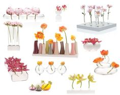 Love these bud vases!  Adds such a pop to any room without having to buy an entire bouquet of flowers!