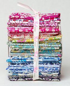 I'd love this liberty fabric bundle!