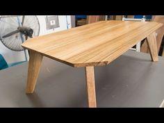 "Build a kickass ""retro"" coffee table - JordsWoodShop - YouTube"