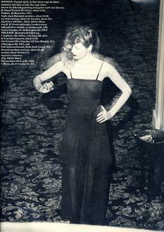 Vintage Yves Saint Laurent Sheer Dress @ Resurrection Vintage #YSL