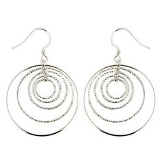Amazon.com: Indian Fashion Jewelry Sterling Silver Earring Indian Jewelry 1.75 Inches: ShalinCraft: Jewelry