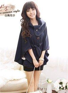Impresionante estilo coreano cuello de cobertura del Cabo: dressyours.com