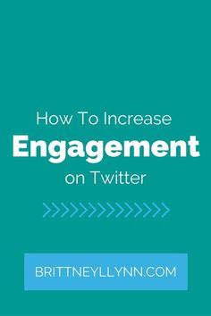 Increase engagement on your Twitter profile and your sales will soar! Get the scoop now.
