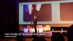 THE FUTURE OF 3D BIOPRINTED MEAT @ Smart Content Conference Conference, Content, 3d, Meat, Future, Movies, Future Tense, Films, Film Books