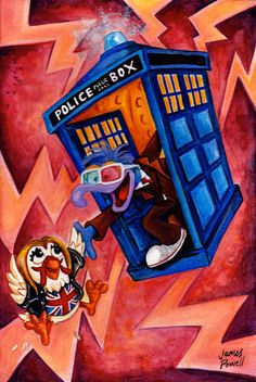 Doctor Muppet 10th Doctor   Doctor who / Muppet by JamesPowellArt