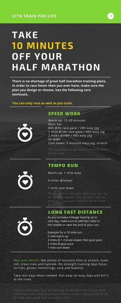 Take 10 minutes off your half marathon. You know the half marathon is my sweet spot right? Just enough time to warm up my legs, not so long my brain can interfere! Half Marathon Training Plan, Marathon Tips, Marathon Running, Marathon Preparation, Race Training, Speed Training, Running Training, Training Equipment, Running Humor