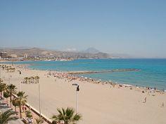 El Campello, The med sea, Spain