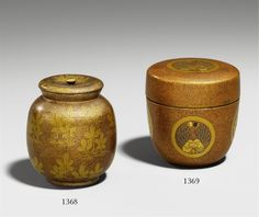 Teedose (natsume). 19. Jh., Auktion 1053 Asiatische Kunst, Lot 1369