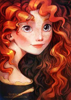 """Love it! Merida by Shricka.deviantart.com on @deviantART - From """"Brave"""""""
