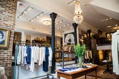 First Look: Take A Tour Of The Gorgeous New Billy Reid Store #Refinery29