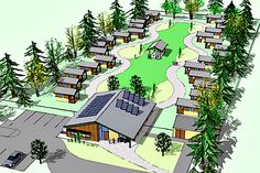 Governments and nonprofits are working together on a practical solution to homelessness through the construction of tiny-house villages.