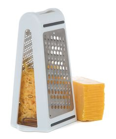 Love this Two-Way Grater & Measuring Container on #zulily! #zulilyfinds