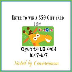 New Age Mama: $50 Toys R US Gift CARD #Giveaway