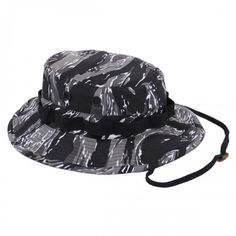 This military style boonie hat is made to government specifications and  comes in a stylish Urban Tiger Stripe Camo pattern. 495ae1bf9f7c