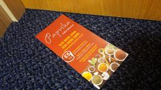 Have you received our new menu?, if not then Pick up a menu today!