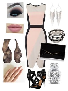 """""""Untitled #432"""" by sofia-boubou on Polyvore featuring Miss Selfridge, Michael Antonio, Furla, Jules Smith and Victoria's Secret"""