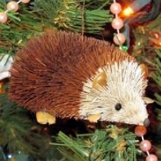 Brushart Ornaments are some of my favorite Christmas ornaments!