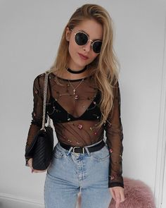 "3,818 mentions J'aime, 52 commentaires - Lydia Rose (@fashioninflux) sur Instagram : ""Evening outfits in Spring make me happy ebaaay top! """