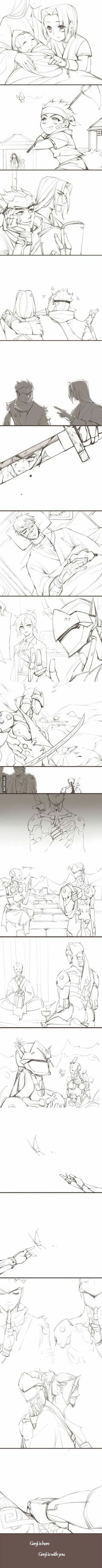 Genji backstory - 9GAG