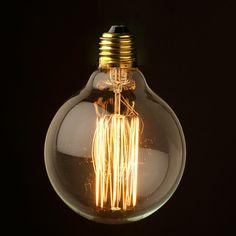 £15 Design Vintage | Large Vintage Lightbulb | Filament | Eddison