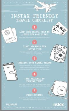 Instax Travel tips