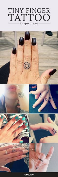 If you're still not sure about the placement of your new tattoo, consider your hands. It's a great way to show off a passion or belief without saying a single word. And if you talk with your hands, your ink will make an even louder statement