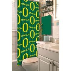NCAA Oregon Ducks Shower Curtain