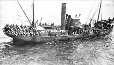 These little fishing boats, which had been brought to Gallipoli originally to assist, unsuccessfully, in minesweeping operations in the Dardanelles, ...