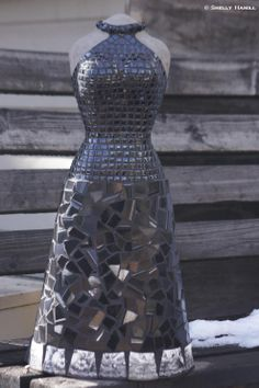International mosaic artist specializing in mosaic dress sculptures and mosaic portraits. Holmes On Homes, Sculptures For Sale, Emily Dickinson, Where The Heart Is, Local Artists, Aspen, Mosaic, Portrait, Inspiration