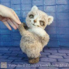 Veronika with mouse toy By Iveta Rakova - Bear Pile