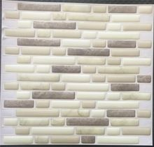 Korean self adhesive 3d wall tile for living room