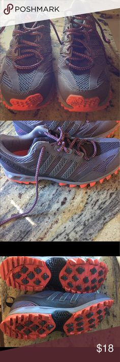 Adidas trail runners Kanadia tr5 Still in good condition tread is perfect great for running or hiking Adidas Shoes Sneakers