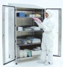 Cleanroom Garment Storage Cabinet