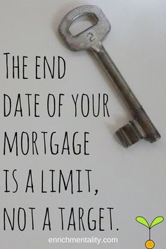 When should I pay off my mortgage? I Pay, Finance, Economics