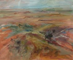 Mundi Mundi Plains by Gail Barfod  acrylic on canvas 51 x 61cm https://www.facebook.com/gailbarfodartist