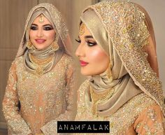 Most beautiful muslim brides in hijab/Hijabi dulhan Hijabi Wedding, Muslimah Wedding Dress, Pakistani Wedding Outfits, Hijab Bride, Muslim Brides, Pakistani Wedding Dresses, Girl Hijab, Muslim Girls, Bridal Outfits