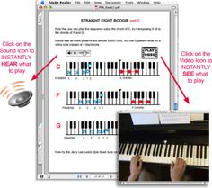 Read my review of the PianoForAll system for learning to play the piano: http://www.pianoonlinemusic.com/pianoforall-review/