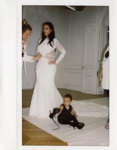 Kim Kardashian + North West | ♡ Pinterest: ℓuxulƗrɑv | LUXURIOUSULTRAVIOLET.com #luxuriousultraviolet