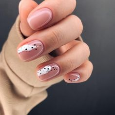 abstract blush pink and white nail art design Rose Gold Nails, Yellow Nails, Sparkly Nails, Solid Color Nails, Nail Colors, Bridal Nails, Wedding Nails, Ten Nails, Pink Manicure