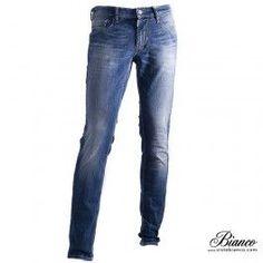 Vaquero Skinny azul