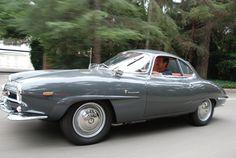 1965 Alfa Romeo Giulia SS Coupe For Sale Front Graphite Gray