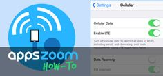 How (And Why) To Turn Off Cellular Data On Your iPhone | Drippler - Apps, Games, News, Updates & Accessories