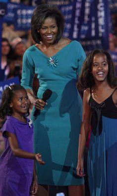 Sasha and Malia's Cutest Moments With Mom Michelle